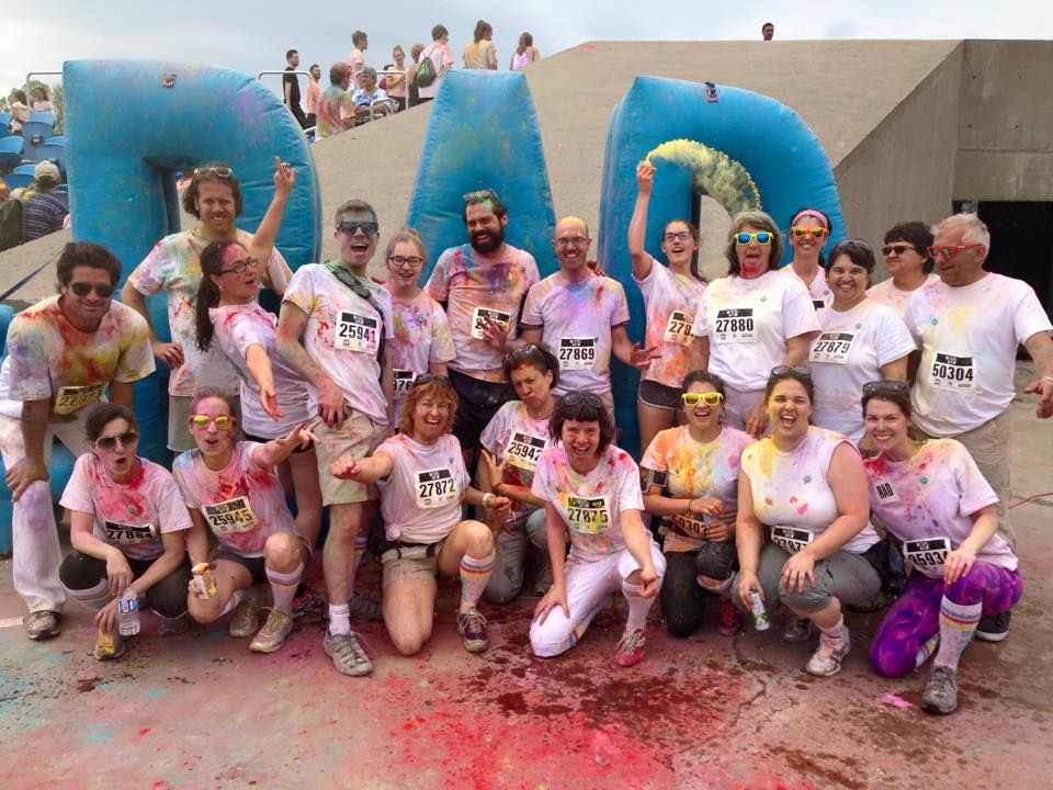 Team Judith au Color Me Rad